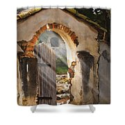 Mission Gate Shower Curtain