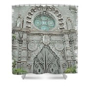 Mission Inn Chapel Door Shower Curtain