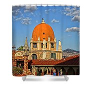 Mission Inn Dome Shower Curtain