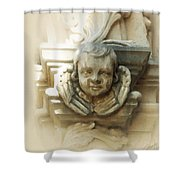 Mission San Jose Angel Shower Curtain