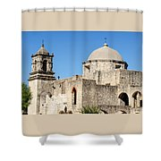 Mission San Jose Towers Shower Curtain