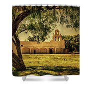Mission San Juan Church Shower Curtain