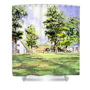 Mission San Luis Shower Curtain