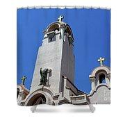 Mission San Rafael Arcangel Shower Curtain