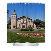 Mission Santa Clara De Asis Shower Curtain