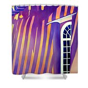 Mission St Francis Assisi At Noon Shower Curtain