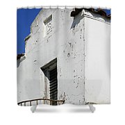 Mission Style Architecture Shower Curtain
