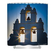Mission Sunset Shower Curtain