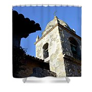 Mission Tower Shower Curtain