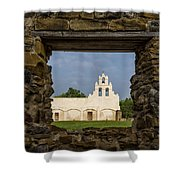 Mission View Shower Curtain