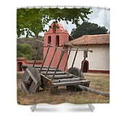 Mission Wagon Shower Curtain