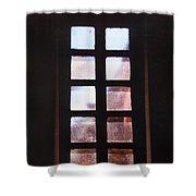 Mission Window Shower Curtain