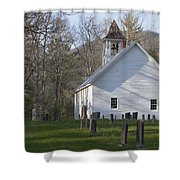 Missionary Bapist Church  Shower Curtain