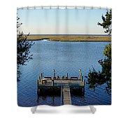 Mississippi Paradise Shower Curtain