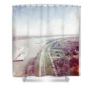 Mississippi River Shower Curtain