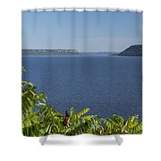 Mississippi River Lake Pepin 2 Shower Curtain