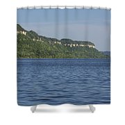 Mississippi River Lake Pepin 4 Shower Curtain