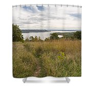 Mississippi River Lake Pepin 9 Shower Curtain