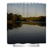 Mississippi River Mirror Like Water Shower Curtain