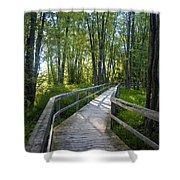 Mississippi Riverwalk Trail - Carleton Place, Ontario Shower Curtain