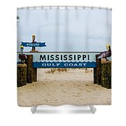 Mississippi Welcome Shower Curtain