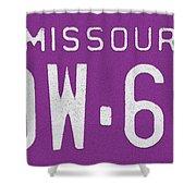 Missouri '78 Shower Curtain