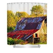 Missouri Barn Shower Curtain