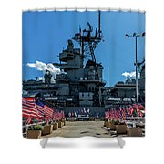 Missouri Exhibit Entrance Shower Curtain