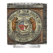 Missouri Great Seal Shower Curtain