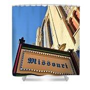 Missouri Theater Shower Curtain
