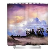 Mist After The Storm Shower Curtain