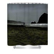 Mist At Cannon Beach Shower Curtain