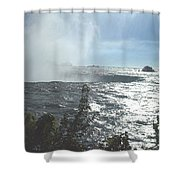 Mist At The Falls Shower Curtain