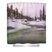 Mistaya Canyon Shower Curtain