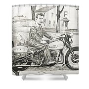 Mister Cool Shower Curtain