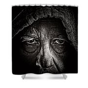 Mister Rocco Shower Curtain
