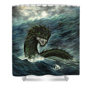 Mistress Of The Sea Shower Curtain