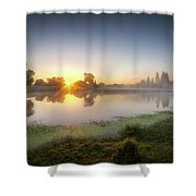 Mists Of The Morning Shower Curtain