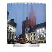 Misty Cathedral Shower Curtain
