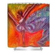 Misty Copeland  Shower Curtain