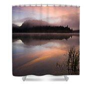 Misty Dawn Shower Curtain