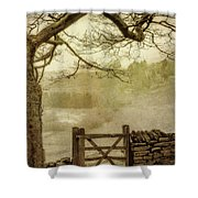 Misty Delight Shower Curtain