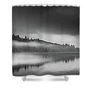Misty Enchantment Shower Curtain