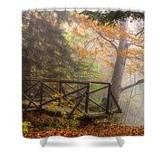 Misty Forest Shower Curtain