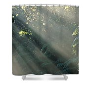 Misty Greenery Shower Curtain