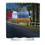 Misty Lavelle Shower Curtain