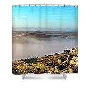 Misty Moor Shower Curtain