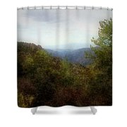 Misty Morn In The Mountains Shower Curtain