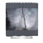Misty Morning - Ojai California Shower Curtain