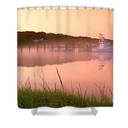 Misty Morning Osterville Cape Cod Shower Curtain